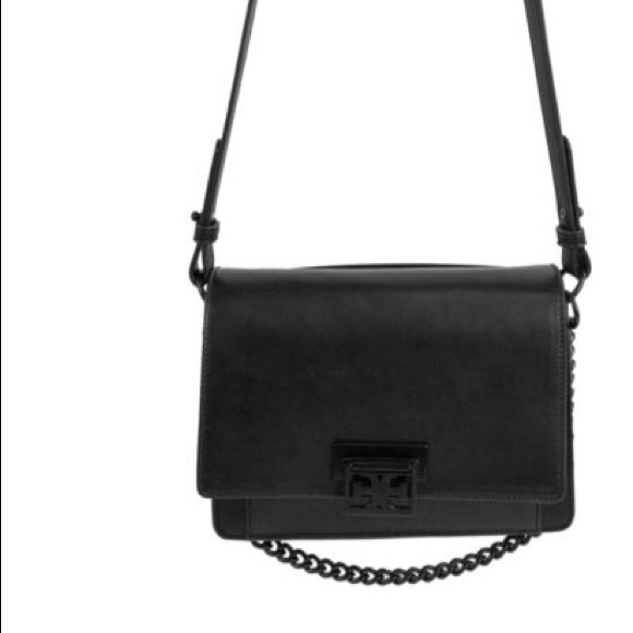 Sam Edelman Handbags - Sam Edelman Black Messenger Crossbody Bag
